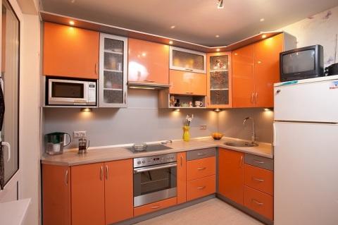 Оранжевая палитра