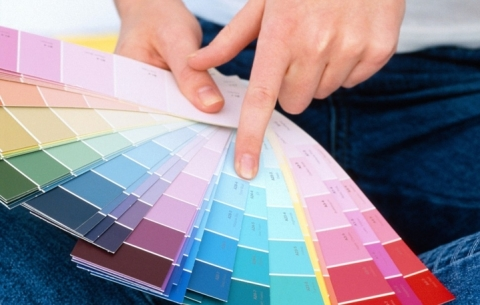 Оттенки красок для ванной комнаты