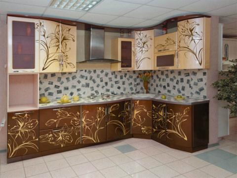 Применяем материал для отделки рабочей части кухни