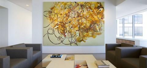 Рисование на стене акриловой краской