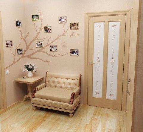 Вот такая интересная композиция, с генеалогическим семейным древом