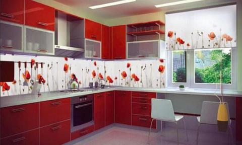 Выбираем рисунок для плитки на кухне