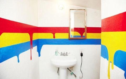 Выбор краски для стен в ванной