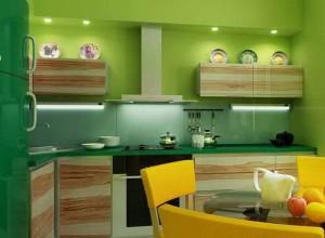 Зеленый цвет поднимет аппетит