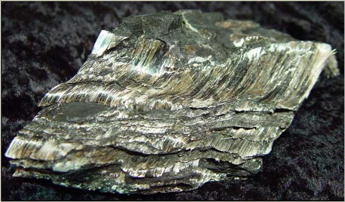 Амозит (грюнерит)