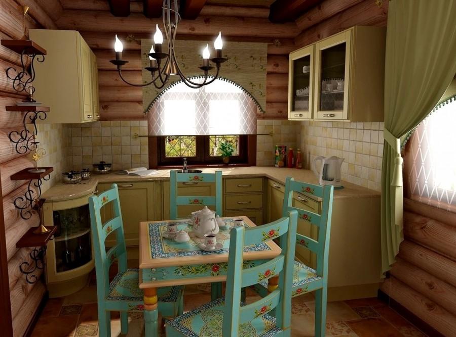 Домики в деревенском стиле своими руками