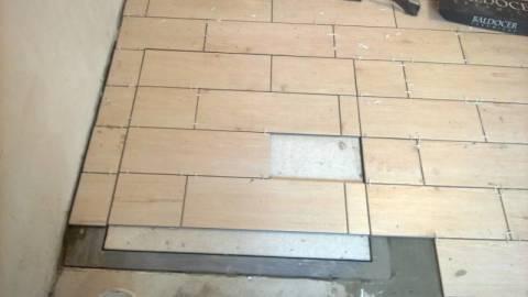 Кафельная плитка на пол для кухни