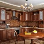 Классические мотивы для кухонного помещения