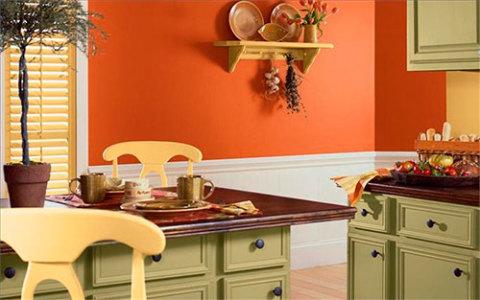 Краска для кухонных стен