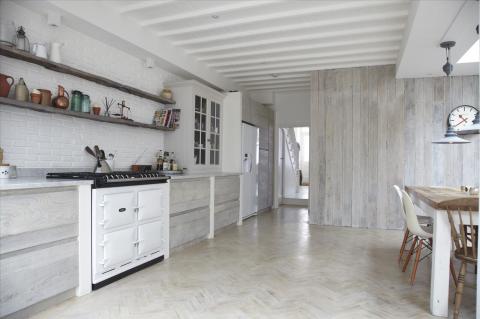 Кухни: как покрыть стены вагонкой, чтобы получился стильный интерьер