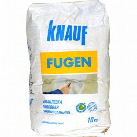 Кнауф фуген – доступное решение для качественного ремонта