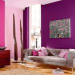 Окрашивание различных поверхностей и стен одним цветом, но разной насыщенности