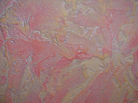 Фактура акриловой штукатурки «Мокрый шелк»