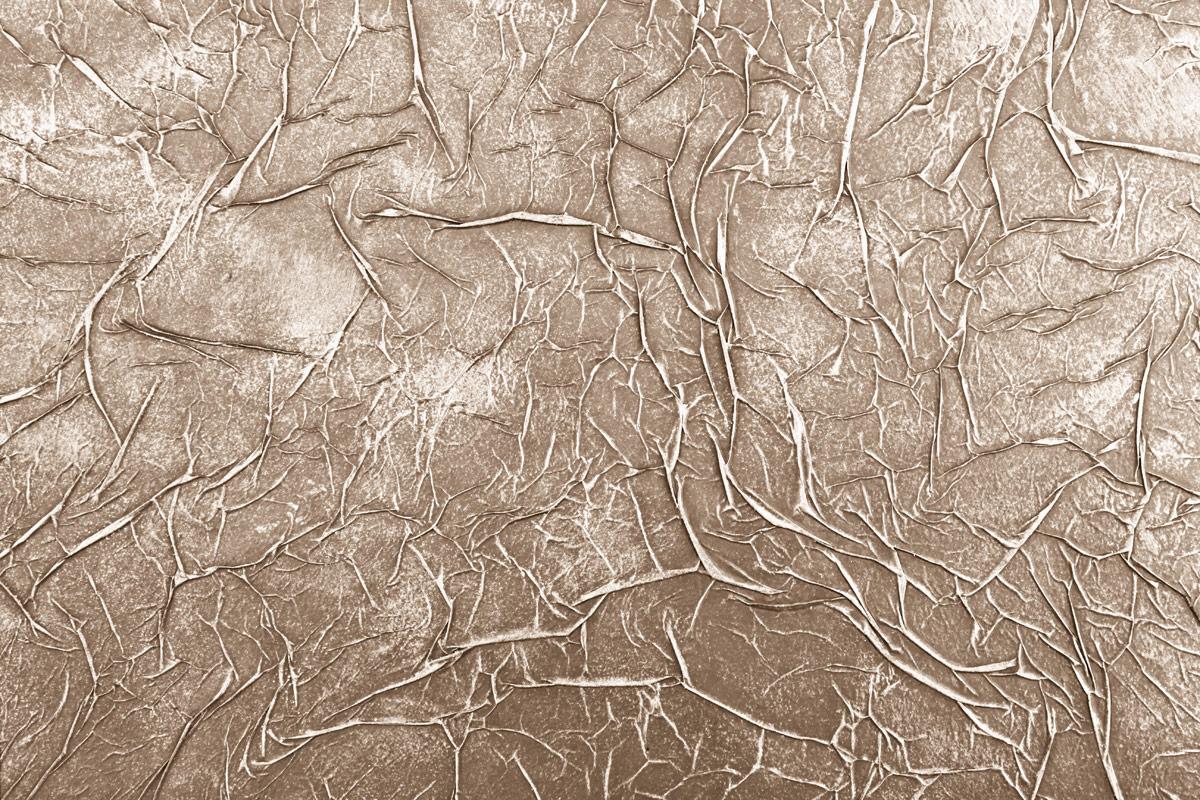 Эффект мятой кожи на стене своими руками