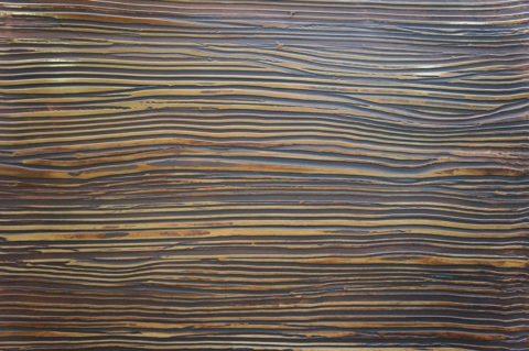 Фактурная штукатурка «Гребенка» напоминает древесину