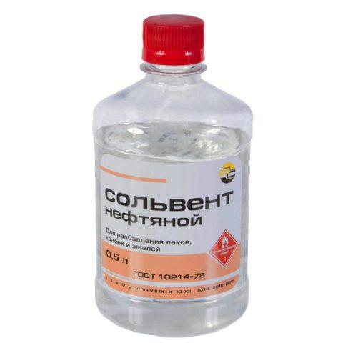 Сольвент можно использовать для разбавления любых алкидных эмалей и красок