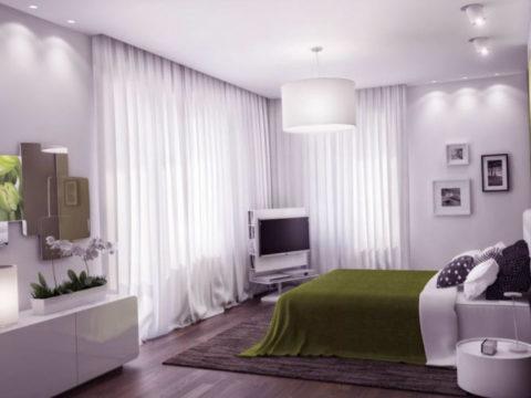 В комнате должно присутствовать не больше трех основных цветов