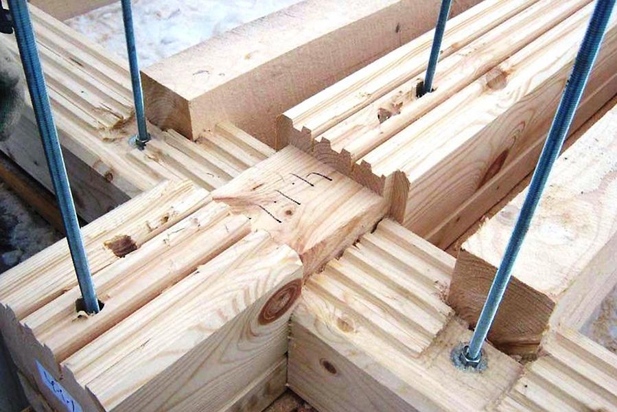 Строительство своими руками из профилированный брус