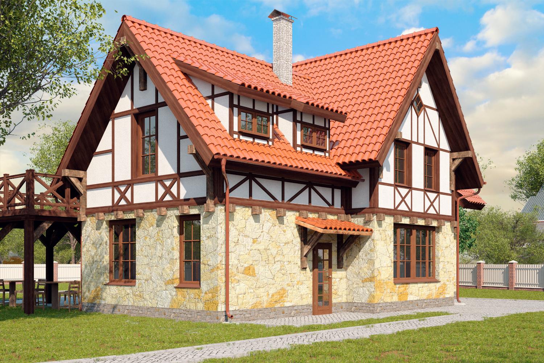 Немецкий фахверковый дом
