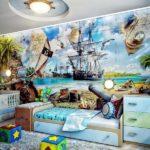 Фотообои на пиратскую тему