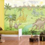 Фотообои с динозаврами для комнаты мальчика