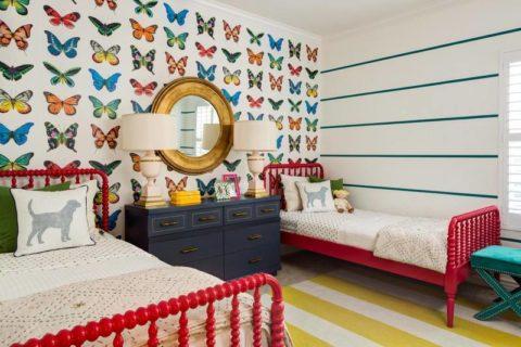 Комната для девочек среднего школьного возраста