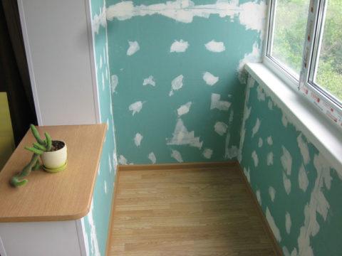 Наша задача — правильная покраска гипсокартонного покрытия