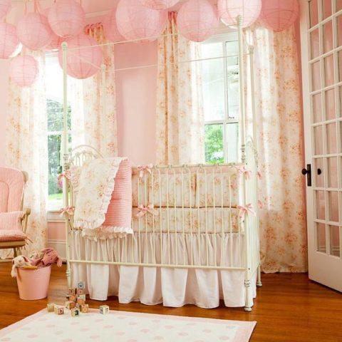 Обои бумажные дуплекс для комнаты девочки младенческого возраста