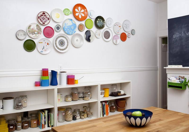 Идеи декорирования стен на кухне своими руками 25