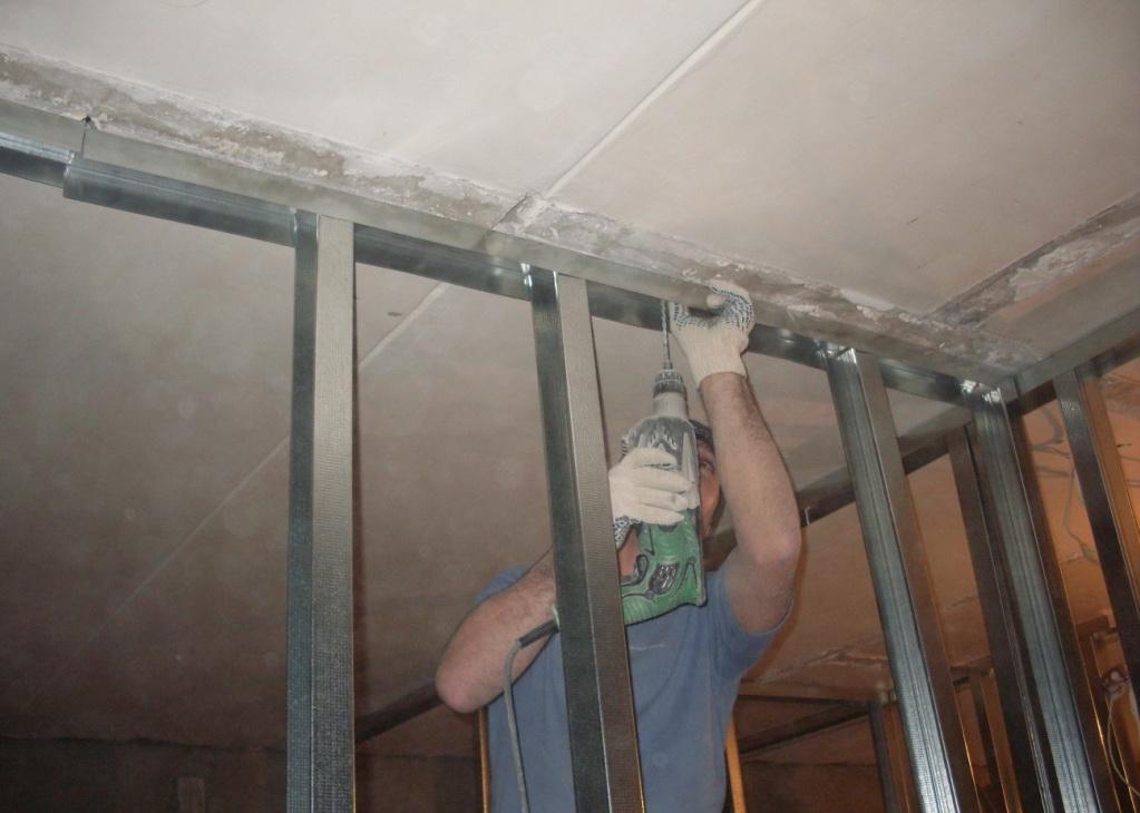 Работа с гипсокартоном своими руками стены видео фото 600