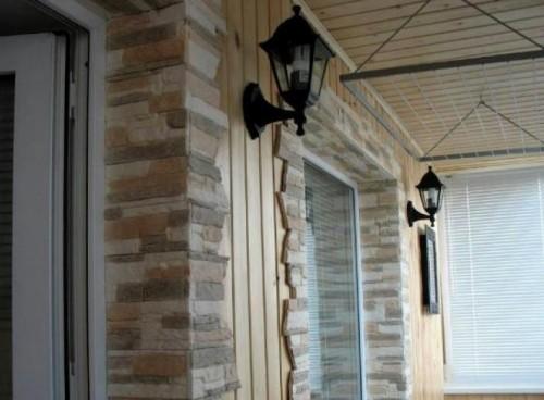 отделка дверных проемов декоративным камнем своими руками