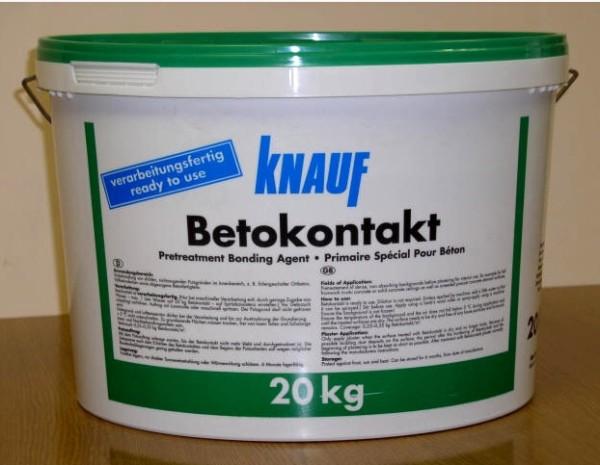 Грунтовка для стен под шпаклевку Бетоноконтакт выпускается практически всеми производителями строительных смесей