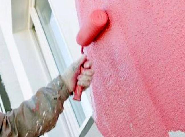покраска фасадной краской по штукатурке