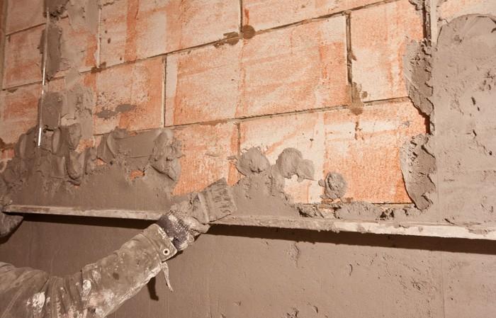 улучшенная штукатурка фасадов цементно известковым раствором