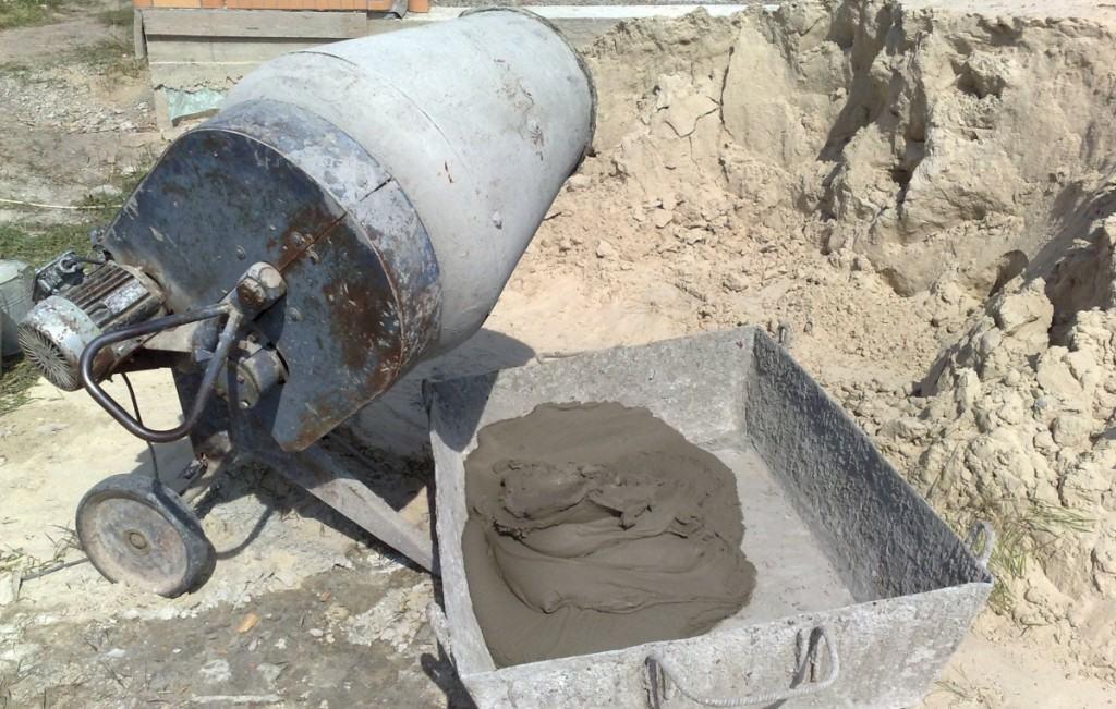 изготовление цементного раствора