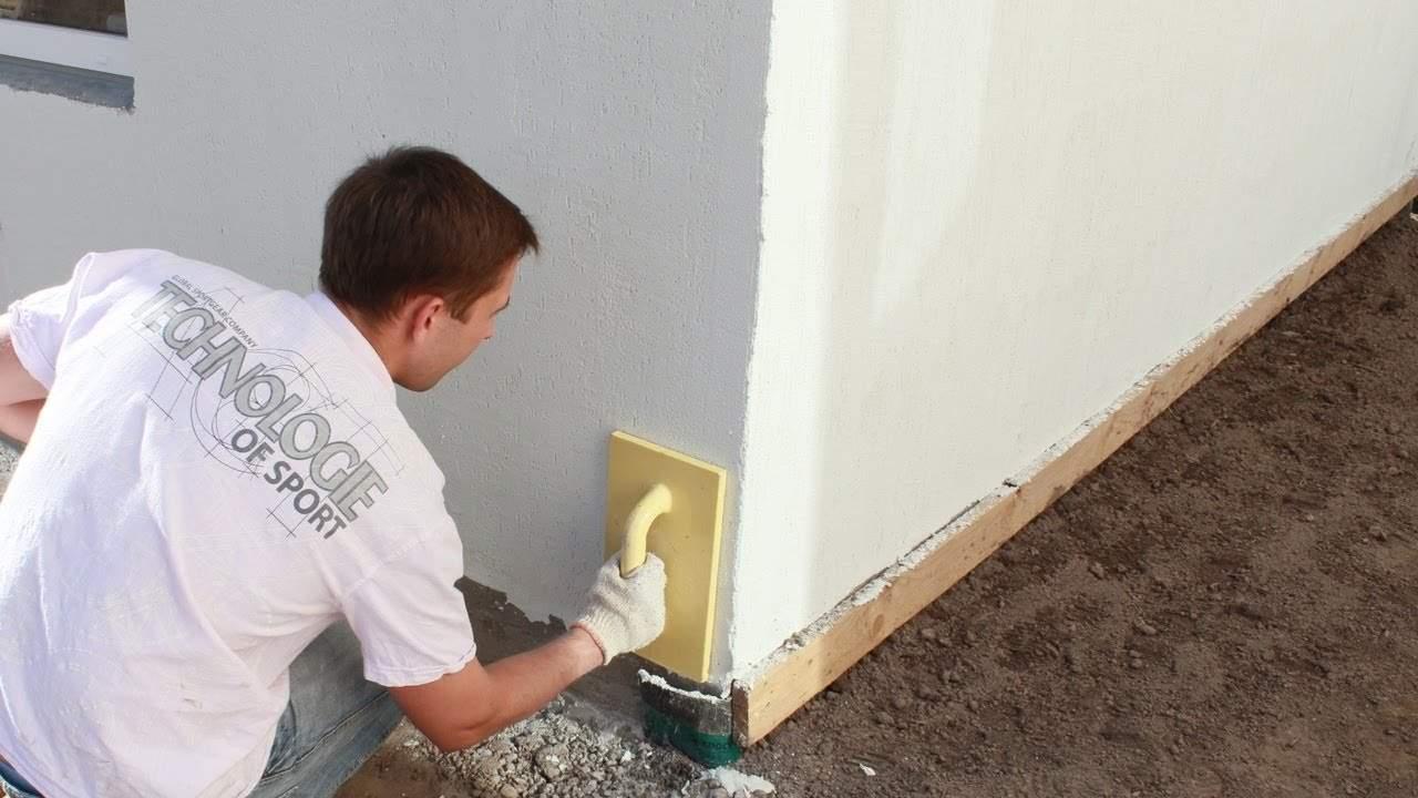 Технология оштукатуривание стен цементным раствором цены на заливку цементным раствором