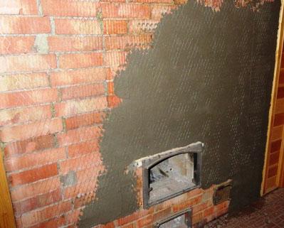 Штукатурим печь цементным раствором как наносят штукатурку цементный раствор