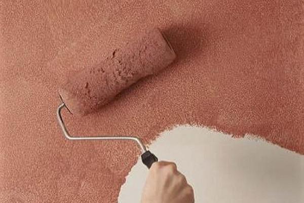 Меховой валик для структурной краски