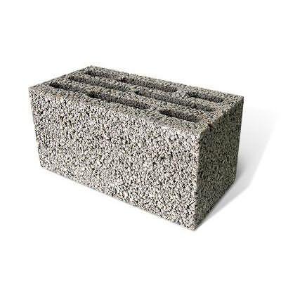 Общий вид керамзитбетонного блока
