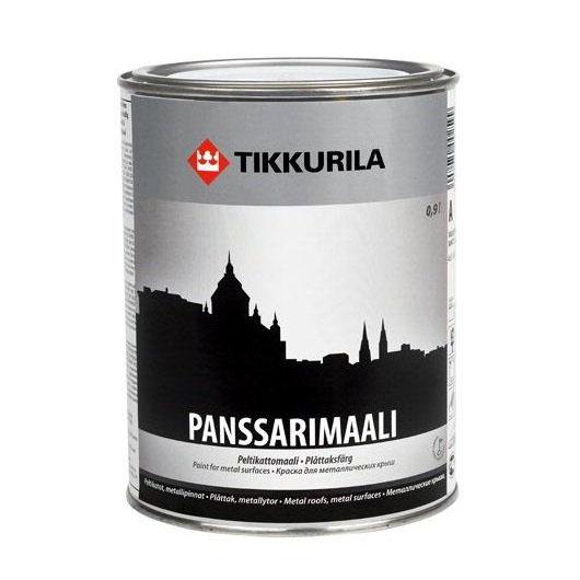 Панссаримаали – краска для металлических кровель, водостоков и карнизов от Tіkkurila