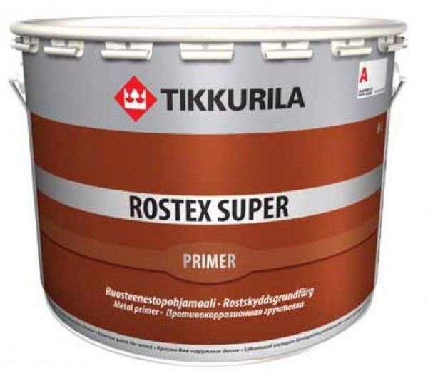 Ростекс Супер – грунтовка по металлу с антикоррозионными свойствами