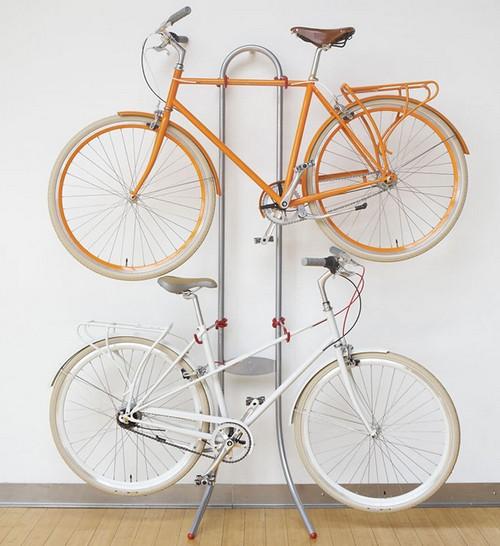 Хранение велосипедов на стойке