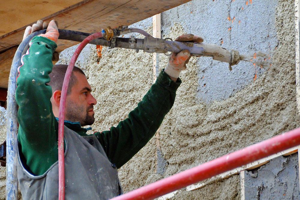 ремонт штукатурных фасадов