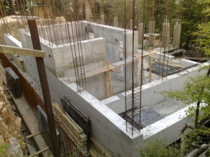 монолитный дом материал стен