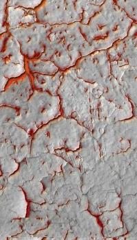 Эффект «вулканическая лава»