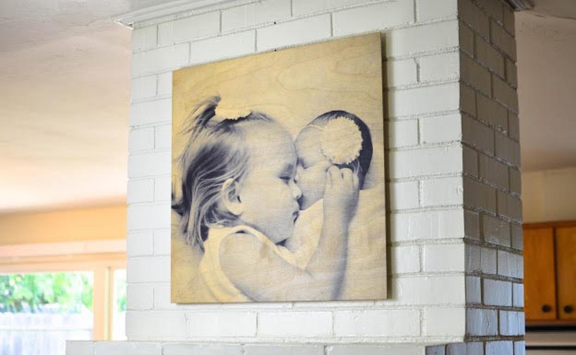 печать фотографий на стену