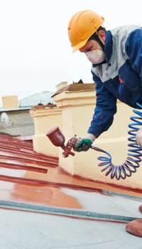 Гидрофобные алкидные краски для металла обладают водостойкими характеристиками