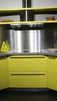 Металлизированные панели, идеально подойдут для ультрасовременной кухни