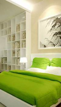 Оформление спальни для молодой семьи