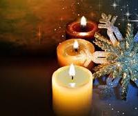 Тёплые свечи и холодные снежинки